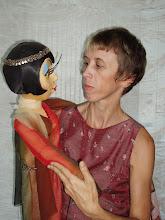 Photo: С.Гниденко, зав. труппой кукольного театра