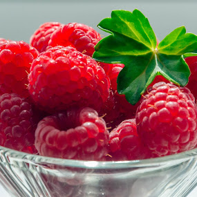 Raspberries by Adele Price - Food & Drink Fruits & Vegetables ( red, fruit, raspberries,  )