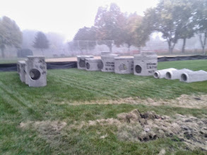 Photo: Storm Sewer Staging 10-3-2013