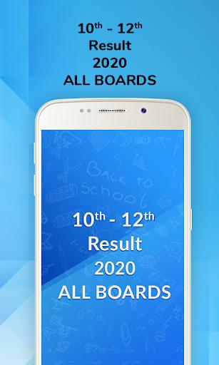 10th Board Result 2020, 12th Board Result 2020 screenshot 1