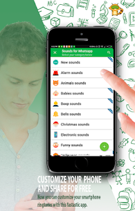 Sounds for Whatsapp – The Best Ringtones App Download For Android 7