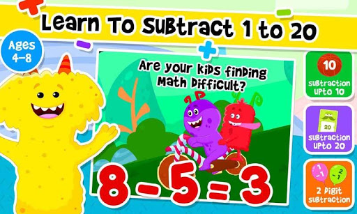 Addition and Subtraction for Kids - Math Games 1.8 screenshots 3
