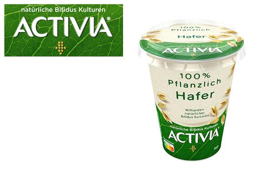 Bild für Cashback-Angebot: ACTIVIA 100% Pflanzlich                                               Hafer - Activia