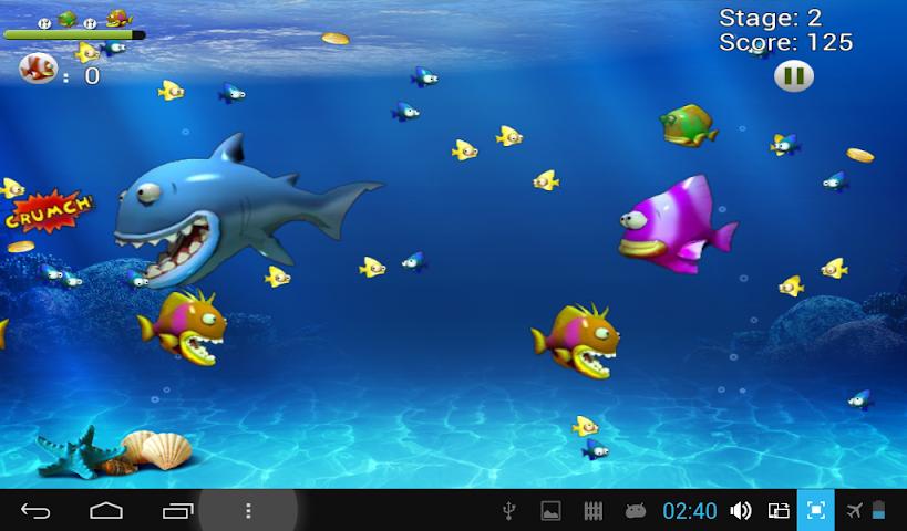 android Feeding Frenzy 2015 Screenshot 1