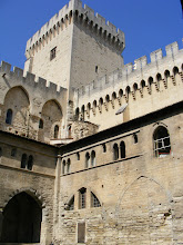 Photo: Here in the main Courtyard, looking up at one of the towers of the fortified palace.