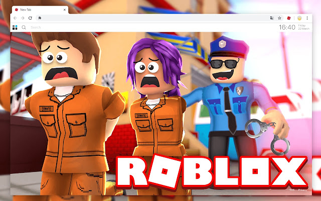 Images Of Roblox Jailbreak Roblox Jailbreak Wallpapers New Tab Theme