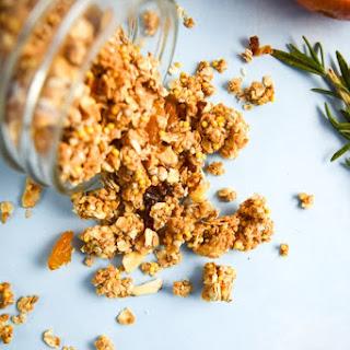 Maple Tahini Millet Granola