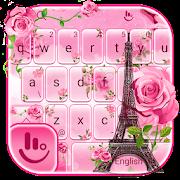 Rose Paris Keyboard Theme
