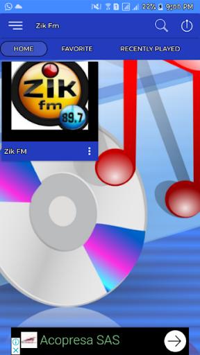 zik fm senegal zik fm 89.7 zik fm dakar screenshot 2