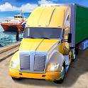 Ferry Port Trucker Parking Simulator icon