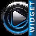 Poweramp widget Light Blue icon