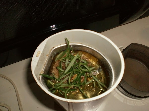 Chop garlic and rosemary very fine, either by hand or in food processor. ...