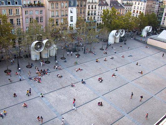 dal Centre Pompidou, Parigi di marmiria