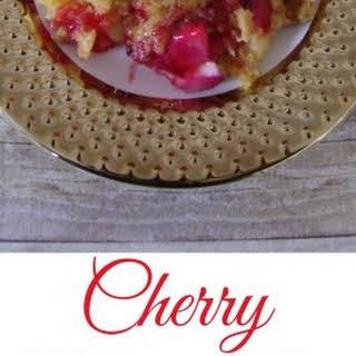 Cherry Cheesecake Dump Cake.