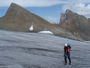 Photo: Glaciar Lombard y Aiguilles d'Arves detrás