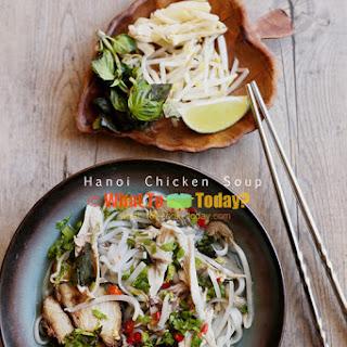 HANOI CHICKEN SOUP / BUN THANG