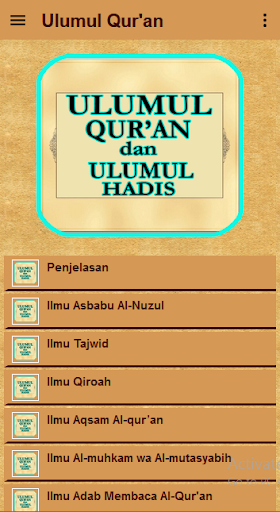 ulumul qur'an dan ulumul hadis screenshot 2