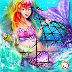 Secret Mermaid Baby Mommy Pregnant Surgery Icon