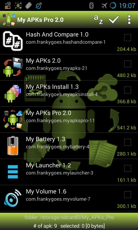 My APKs Pro backup manage apps- screenshot