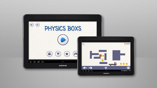 Brain On Physics Boxs Puzzles- screenshot thumbnail