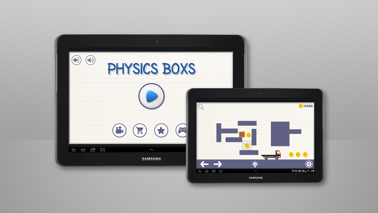 Brain On Physics Boxs Puzzles- screenshot