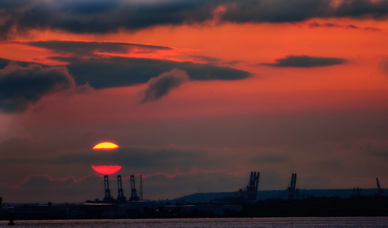 Photo: #brooklyn #sunset I shot this Aug 2 2009