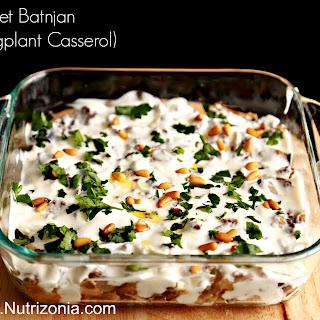 Fattet Batnjan (Eggplant casserole)
