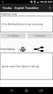 Yoruba - English Translator - náhled