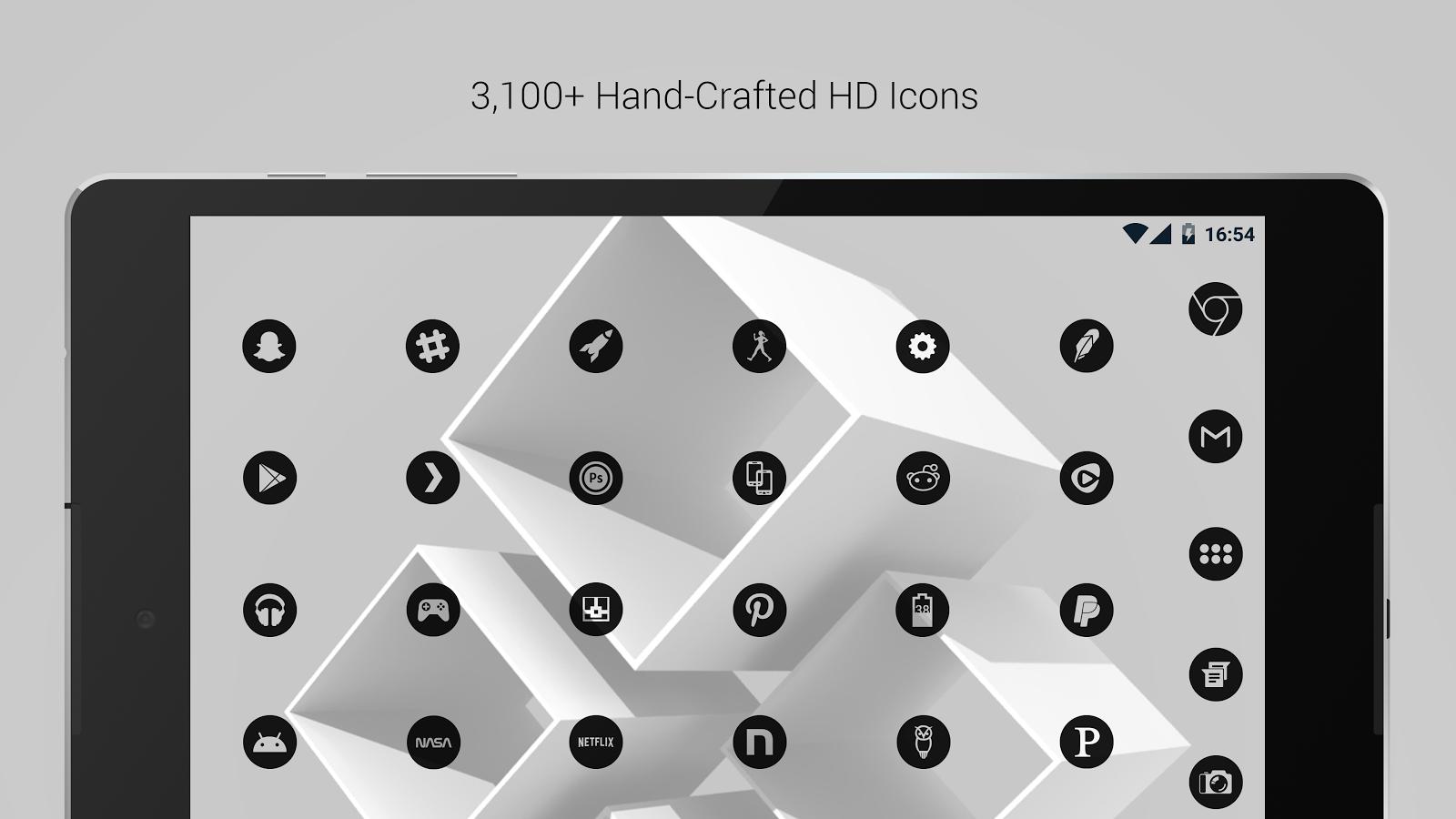 Dark theme gmail app - Dark Void Pro Black Theme Screenshot