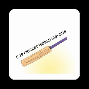 U19 WC'16 match Schedule