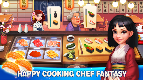 Game Happy Cooking: Chef Fever APK for Windows Phone