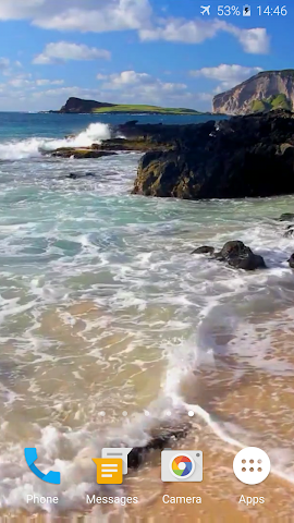 android Relax Video Live Wallpaper Screenshot 1