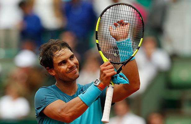 Nadal vence a Bagnis y está en tercera ronda de Roland Garros