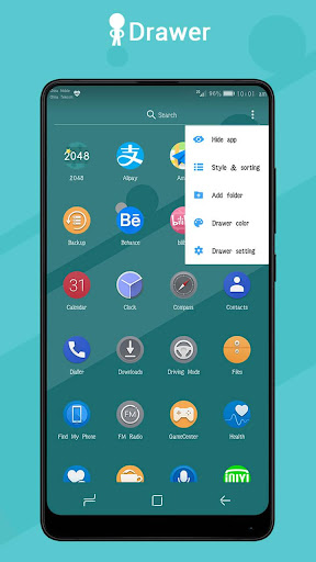 Pi Pie Launcher ud83cudfc6,PP Launcher, Android 9.0 P mode  screenshots 3