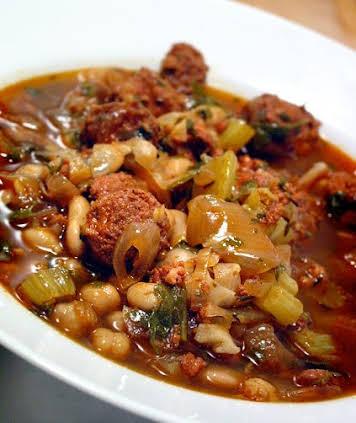 Chickpea and Chorizo Soup