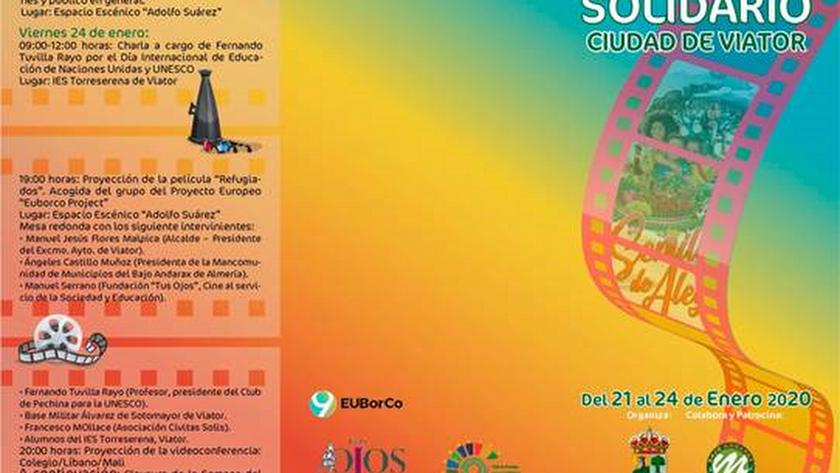 Cartel de la Semana de Cine Solidario.