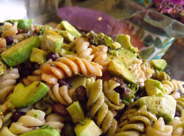 Pasta Salad With Tossed Walnut Dressing Recipe