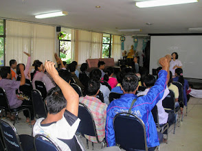 Photo: HIV Patients meeting Chiang Dao hospital