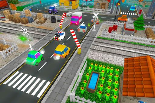 Chemin de fer train simulateur jeu de train de  captures d'écran 1