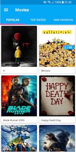 MovieBase - náhled