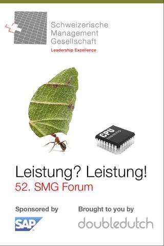 SMG Event App