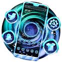 Spiral Nebula Launcher Theme icon