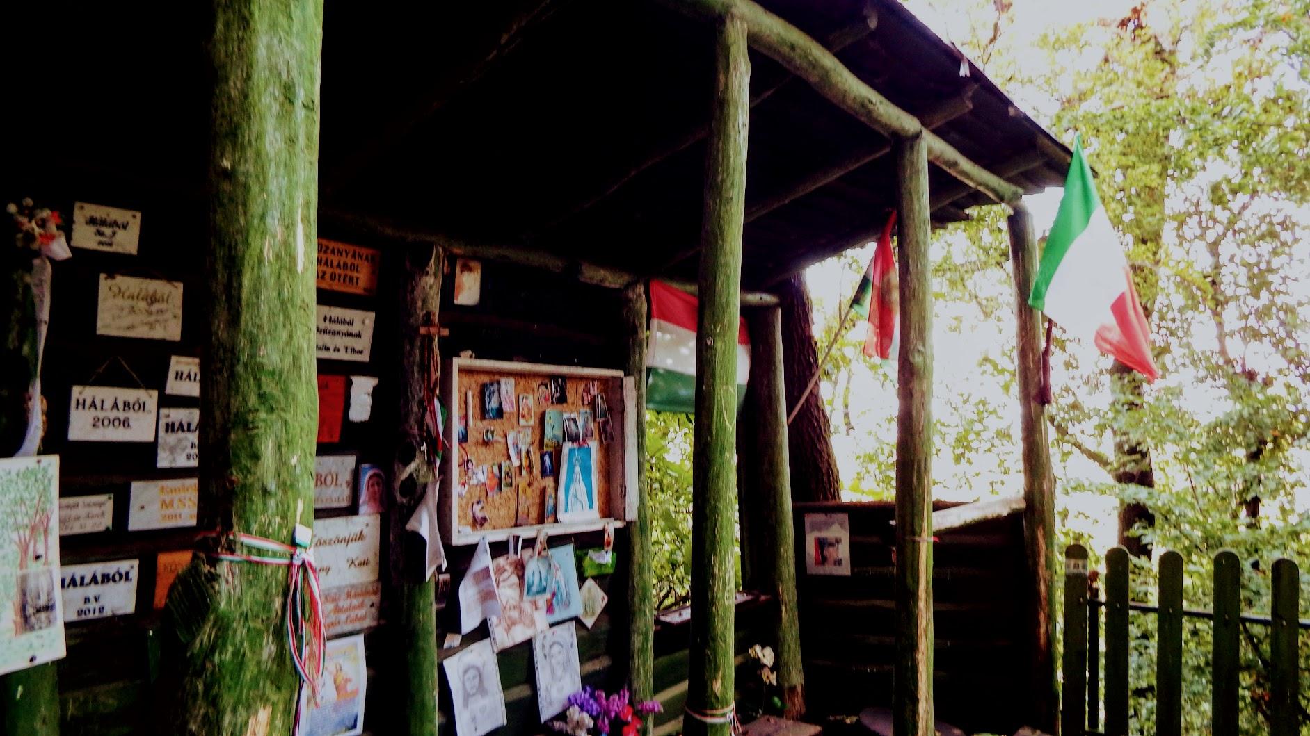 Pilisszentkereszt - Siketnémák Mária kegyhelye Dobogókőn