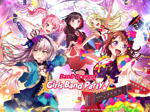BanG Dream! Girls Band Party! poster