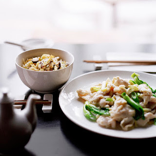 Stir-Fried Chicken and Ginger Recipe