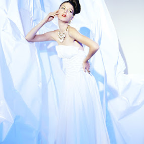 iceberg romance by Budi Purwito - People Fashion ( iceberg, fashion, blue, set, romance, light )