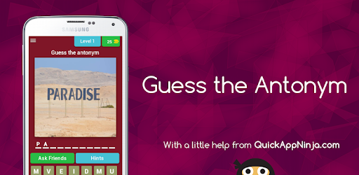 Guess the Antonym - Apps on Google Play