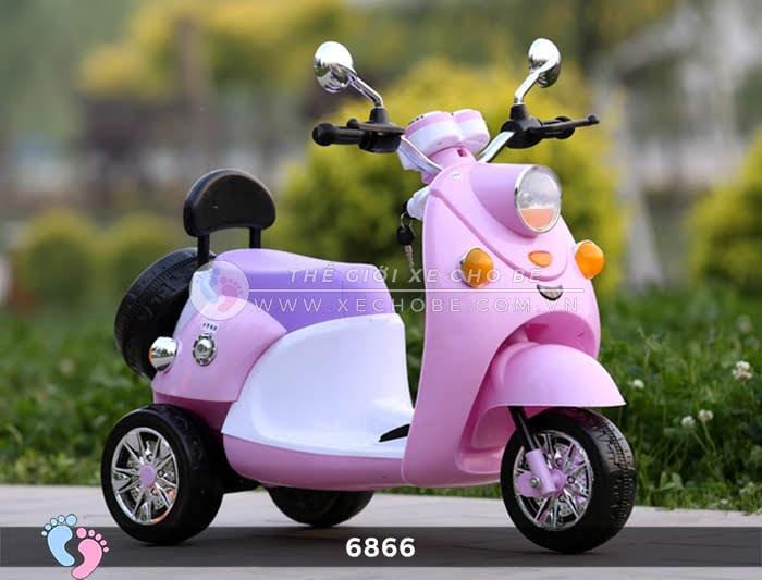 Xe máy điện cho bé Mio 6866 11