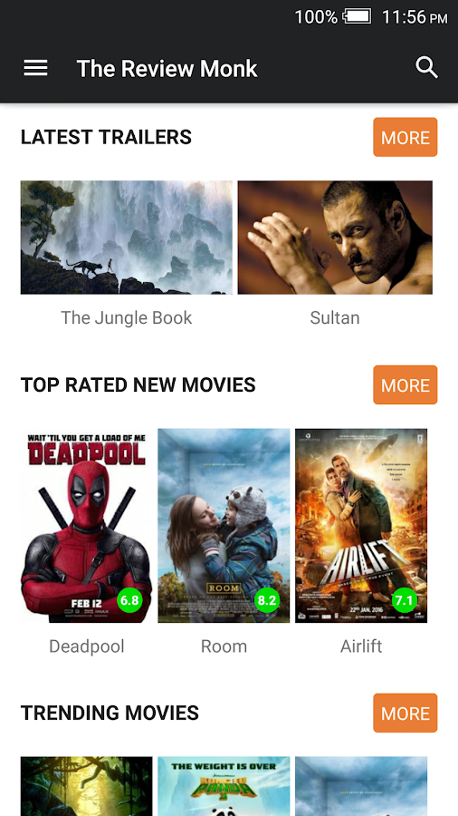 TheReviewMonk - Indian Movie Reviews- screenshot