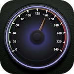 GPS Speedometer Digital Analog Icon